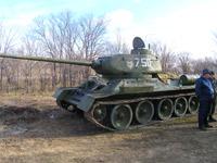В Волгограде еще один танк Т-34 поставят на ход