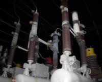 Вспышка в небе стала последствием аварии на электросетях