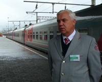 В Волгограде сделал остановку выставочно-лекционный поезд