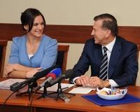 Вице-премьер РФ Виктор Зубков встретился с волгоградскими олимпийцами