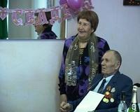 В Жирновске ветеран войны отметил бриллиантовую свадьбу