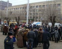 Обманутые вкладчики Волгограда вновь требуют помощи властей