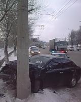 Сегодня утром в Волгограде произошла авария с пострадавшими
