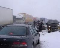 Трасса Сызрань – Саратов – Волгоград остается в снежном плену