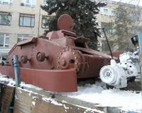 В Волгограде завершается восстановление танка Т-60
