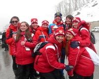 Волгоградские волонтеры вернулись с тестовых соревнований в Сочи