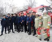 В Волжском создадут городской штаб пожарной дружины