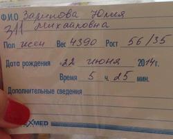Олимпийская чемпионка из Волгограда Юлия Зарипова родила дочку