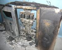 В Волгограде от попадания молнии загорелся многоквартирный дом