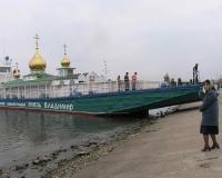 В Волгоград прибыл плавучий «Святой Владимир»