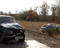 Нетрезвый водитель протаранил милицейскую машину