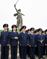Воспитанники мужского педагогического лицея прошли посвящение