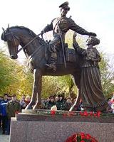 В Волгограде появился памятник казачеству