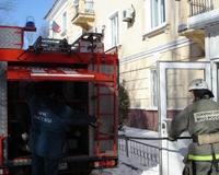 В Центральном районном суде потушили условный пожар