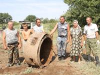 В Октябрьском районе найден бронеколпак времен войны
