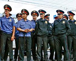 Чтобы стать полицейскими, милиционеры садились на диету