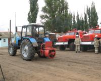В Даниловском районе открыта пожарно-химическая станция