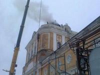 МЧС: пожар в Спасо-Преображенском соборе Перми локализован