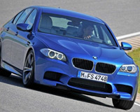 BMW M5 представили в Интернете