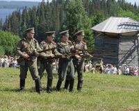 В Хохловке реконструируют бой Второй мировой войны