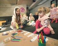 «Сцена-Молот» организует детские творческие мастерские
