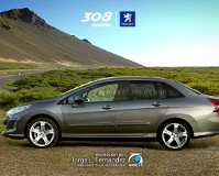 Peugeot 308 предстал в образе седана