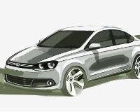 Российский седан VW покажут в июне