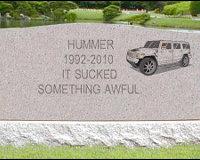 Выпущен последний Hummer