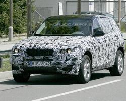 BMW рассекретил новый кроссовер X3