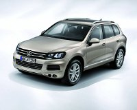 VW Touareg узнал себе цену в рублях