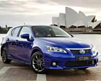 Lexus придал новинке CT 200h спортивный вид