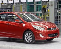 Стартовало производство Hyundai Solaris