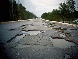 Плохие дороги – причина 20% ДТП