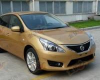 Nissan готовит новую Tiida