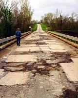 Главу района оштрафовали за ремонт моста