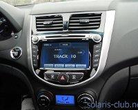 Hyundai Solaris обзавелся навигацией