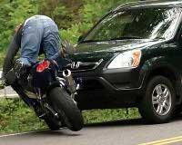 В 9 из 10 ДТП мотоциклисты виноваты сами