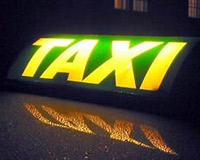 Таксисты похоронили себя в знак протеста