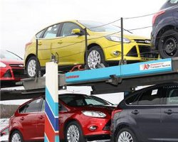 Автовозы с Ford Focus III отправляются в Пермь
