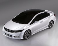 Новую Honda Civic представят через месяц