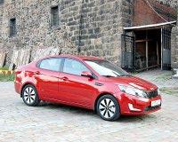 KIA Rio оказался дороже Hyundai Solaris