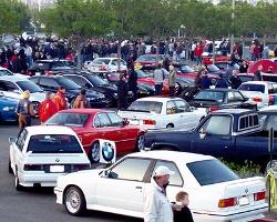 Автомобилисты устроили битву на Гайве