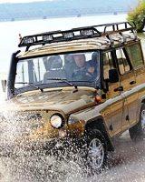 УАЗ сделал машины для пляжа и экспедиции