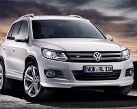 Volkswagen Tiguan занялся спортом