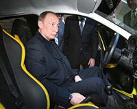 На чем ездит будущий президент России?