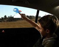 Окна авто станут сенсорными