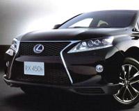 Кроссовер Lexus RX обновляется