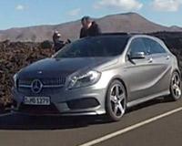 Новый Mercedes-Benz A-class попался до премьеры
