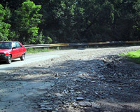 За плохие дороги наказали шесть тысяч человек