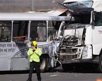 Крупное ДТП на западе Великобритании: 40 пострадавших